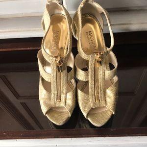 MK glitter heels
